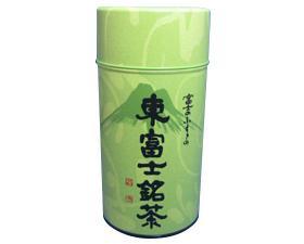 お茶屋さんのギフト用の缶です。